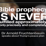 President Trump's Peace Plan and How It Relates To the Future Covenant of Israel With the Antichrist